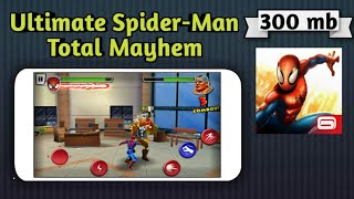 How to download Highly compressed Ultimate Spider-Man Total Mayhem game for Android.