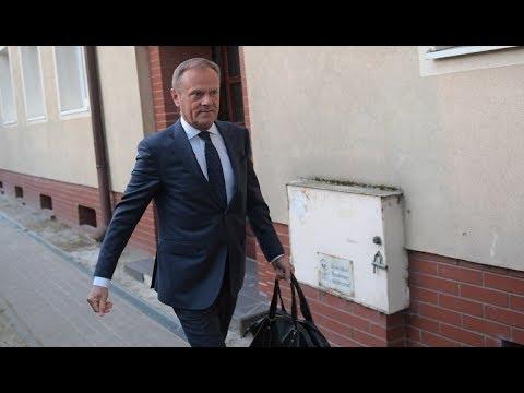 Donald Tusk zeznaje przed Sądem ws. Katastrofy Smoleńskiej [TRANSMISJA NA ŻYWO]