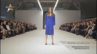 KLAUDIA MARKIEWICZ Belarus Fashion Week Fall/Winter 2017-18