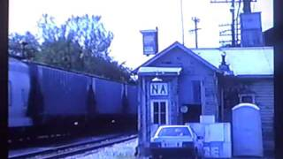 Martinsburg Roundhouse Fire / 5-Days After / 1990