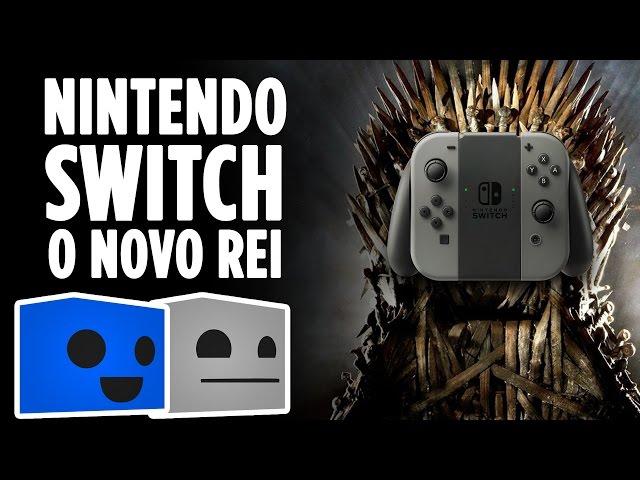 Nintendo Switch O Novo Rei Dos Tronos | Boxgamer 02