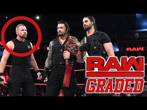 WWE Raw: GRADED (25 September) | Dean Ambrose Heel Turn Incoming? thumbnail