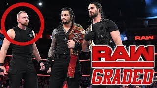 WWE Raw: GRADED (25 September) | Dean Ambrose Heel Turn Incoming?