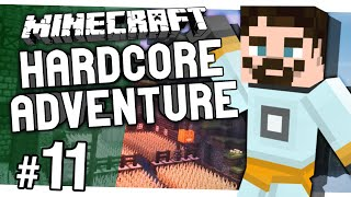 Minecraft 1.9 Hardcore | The Last Vanilla Adventure #11 - Landscaping