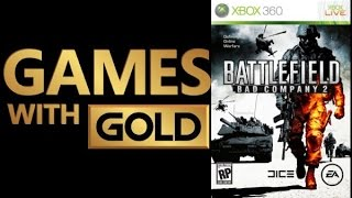 Games With Gold:  Battlefield Bad Company 2  14.09.01-15   Mic