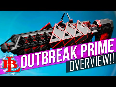OUTBREAK PRIME OVERVIEW - Raid Exotic Pulse Rifle - Exotic Quest - OutBreak Prime Gameplay Review