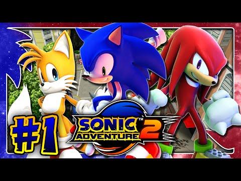 Sonic Adventure 2 HD PC (1080p 60FPS) - Hero Story - Part 1
