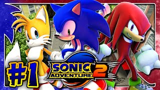 Sonic Adventure 2 HD PC (1080p 60FPS) - Hero Story - Part 1