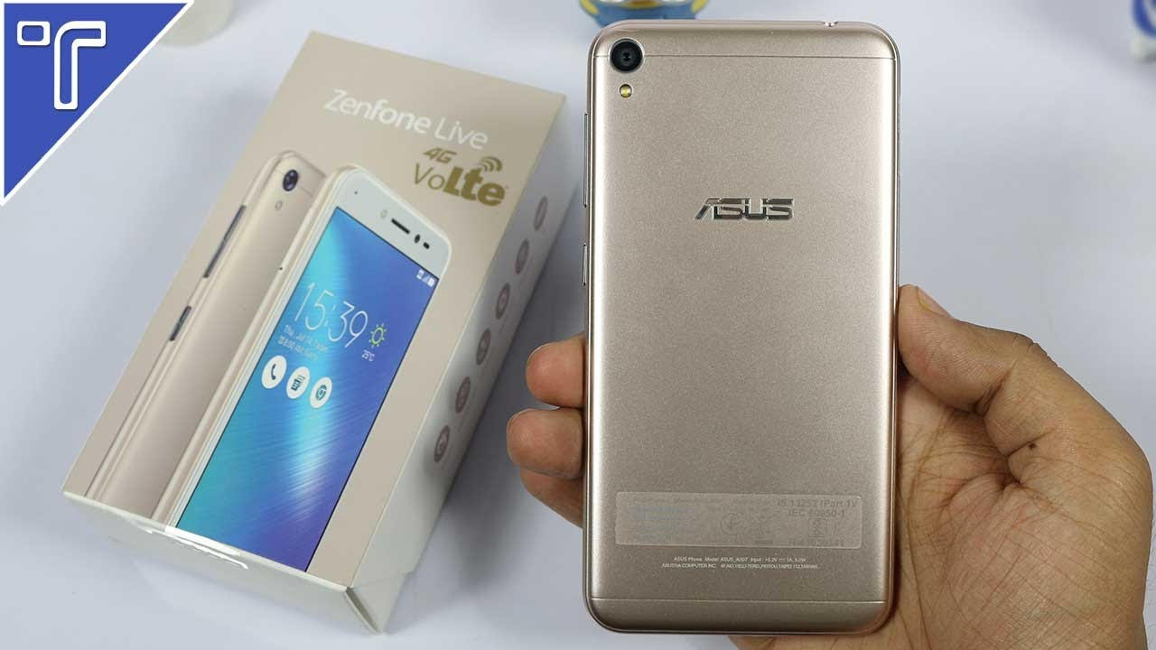 Asus Zenfone Live Unboxing And Hands On Review Specs