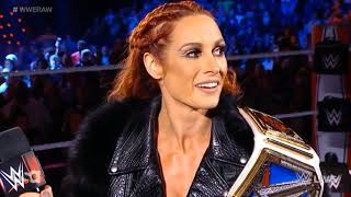 Becky Lynch and Bianca Belair Charlotte Flair Segment Raw 10 5 2021
