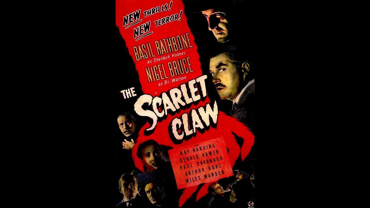 Sherlock Holmes - The Scarlet Claw (1944) Stars: Basil Rathbone, Nigel Bruce - YouTube