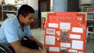 Antesala Escenificacion Pedagogica Batalla de Bocachica