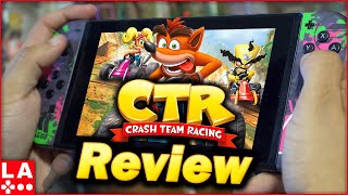Crash Team Racing Nitro-Fueled Review | (Nintendo Switch/PS4/Xbox) (Video Game Video Review)
