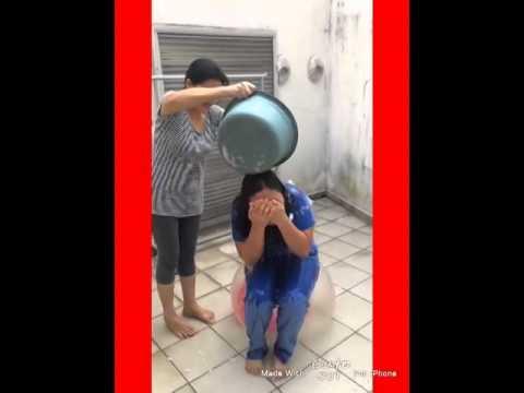 christines ice bucket challenge