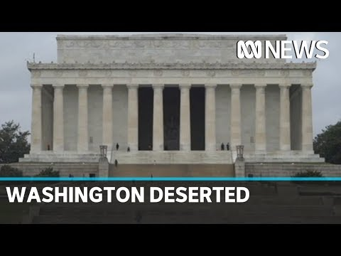 Washington becomes ghost town amid coronavirus downturn | ABC News