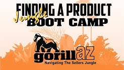 How To Find An Amazon Product To Sell Boot Camp