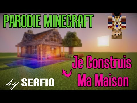 minecraft vid o minecraft je construis ma maison. Black Bedroom Furniture Sets. Home Design Ideas