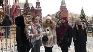 Russian Folk Music That Will Make You Thrill Песни на Красной площади! Як бы в лисе грибы нэ родылы
