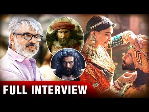 Sanjay Leela Bhansali | EXCLUSIVE | Padmaavat | Full Interview