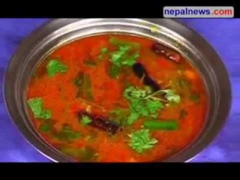 Lean to cook Potato & Bamboo Shoot Soup( Aalu Tama Soup)