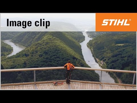 Discover STIHL – construction of a treetop walk