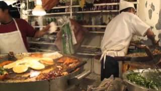 Tacos de Fritangas (Suadero, Longaniza, Tripas, etc) from Puesto outside Ninos Heroes Metro, DF