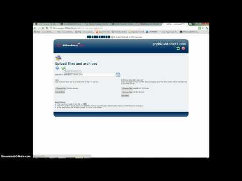 How to install phpbb on 000webhost and add themes