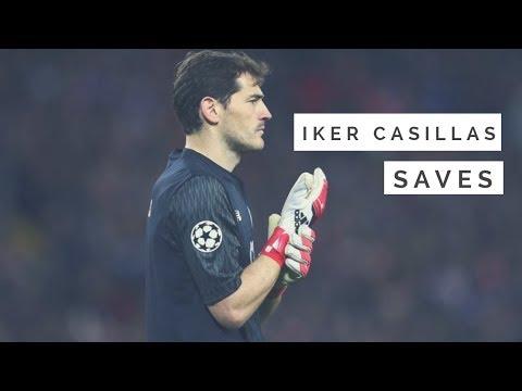 IKER CASILLAS   ULTIMATE SAVES SHOW   2017/18   FC PORTO  