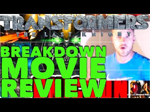 SPOILERS- Transformers: The Last Knight Movie Review. Positive and Emotional Breakdown