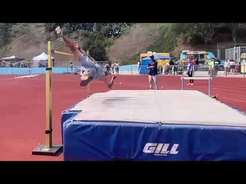 Willie Banks sets M65 world record in high jump