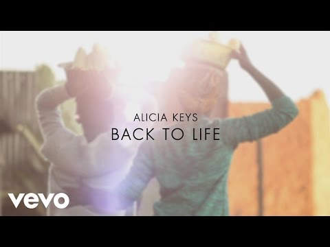 "Alicia Keys - Back to Life (from the Motion Picture ""Queen of Katwe"") [Lyric Video]"