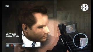 Goldeneye 007 Wii online gameplay at Station. Level 23 play. #488.