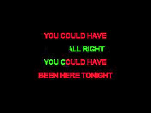 Could Have Been A Lady - April Wine Karaoke