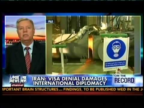 Graham Supports U.S. Denial of Visa to Iran's U.N. Ambassador Pick