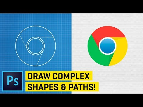 ADVANCED: Draw Complex Shapes & Paths In Photoshop