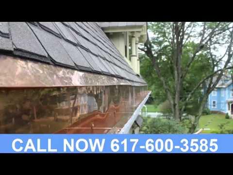 Copper Gutters Company Newton Massachusetts (617) 600-3585