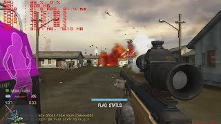 testing L115 bf4  Sniperscope package in mod workforce bf2