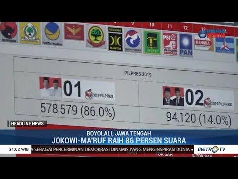 Jokowi Raih 86% Suara Di Boyolali (Hasil Sementara)