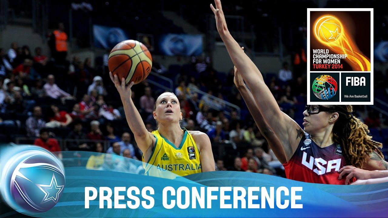 Australia v USA - Post game Press Conference