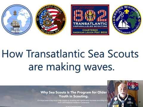 "How Transatlantic Sea Scouts & Sea Scout Ship 802 ""Windborne"" Are Making Waves"