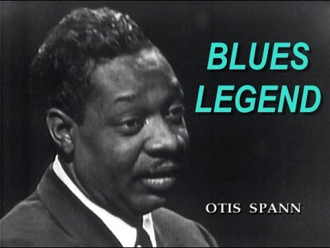 Otis Spann Live Performance 1963, Chicago Blues Piano Legend