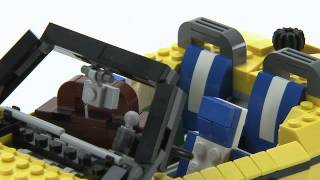 Lego® Creator Designer Tips -- Cool Cruiser Goes On Holiday