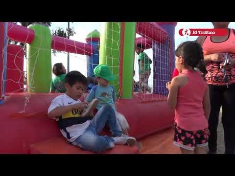 Festejos del Día del Niño en Palpalá