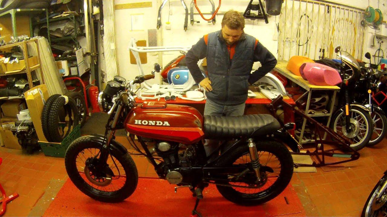 Honda CB100n Funky Walk Around