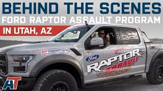 Raptor F150 Off Roading With Justin At Ford Performance Raptor Assault School