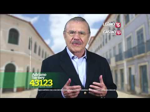 José Sarney fala sobre Adriano