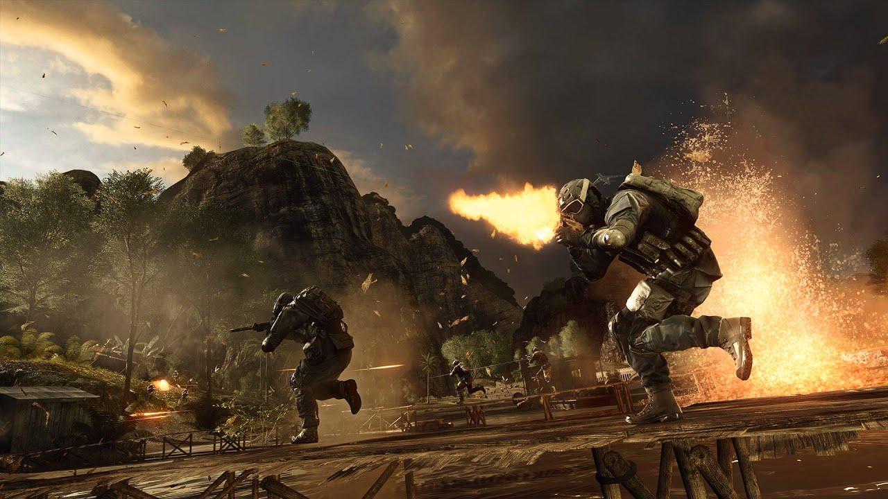 Battlefield 4: Dragon Pass Loading Screen