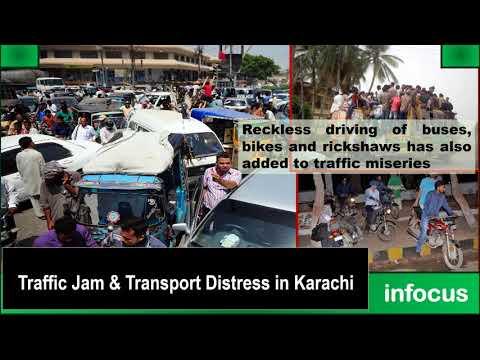Traffic Jam and Transport Distress