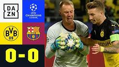 Privatduell! Ter Stegen lässt Reus keine Chance: Dortmund - Barcelona 0:0 | Champions League | DAZN