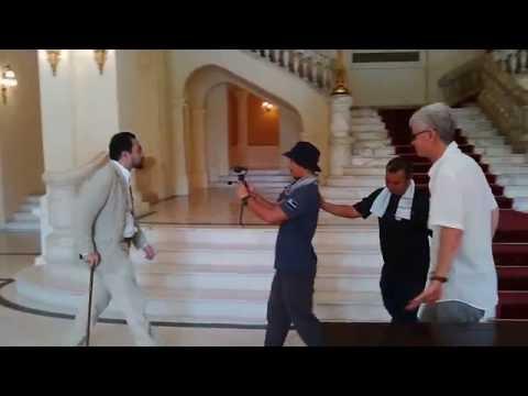 Dr Farish Noor inside Hanoi Opera House